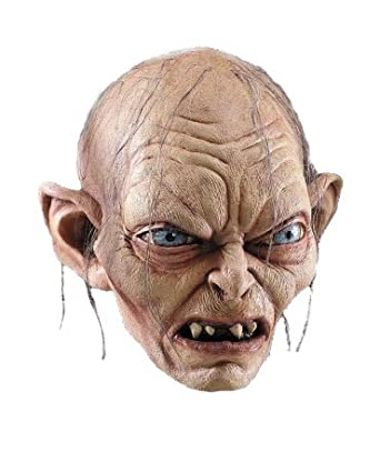 Gollum Mask Costume Accessory  sc 1 st  Amazon.com & Amazon.com: Gollum Mask Costume Accessory: Clothing