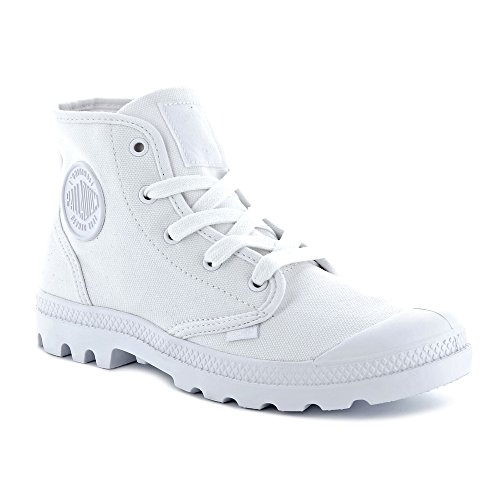 Mens UK 12 White Palladium White Boots OqxY6
