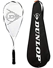 DUNLOP Max Lite Squash Racket + Balls (Bundle Options)