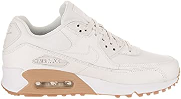 Nike Wmns Air Max 90 PRM Sneaker for Women 41 EU White