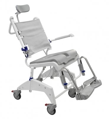 Aquatec OceanVIP Tilt-In-Space Shower Commode Chair