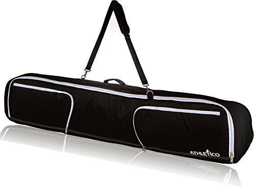 (Athletico Maverick Padded Snowboard Bag 180cm (Black))