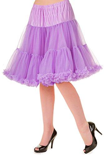 Jupe A Jupe Froufrou Banned Sous Jupon Violet Rouge Violet 50cm vqwBUUdg
