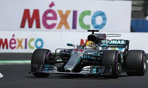 2017 World Champion F1 Lewis Hamilton Mexico GP Diecast in 1:43 Scale by Minichamps -