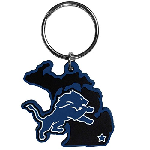 NFL Detroit Lions Home State Flexi Key Chain