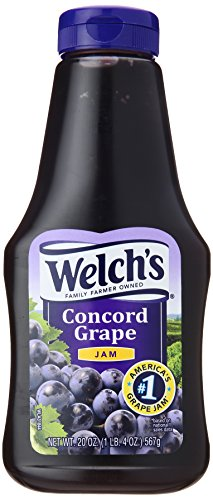 Welch's Squeeze Grape Jam, 20 oz