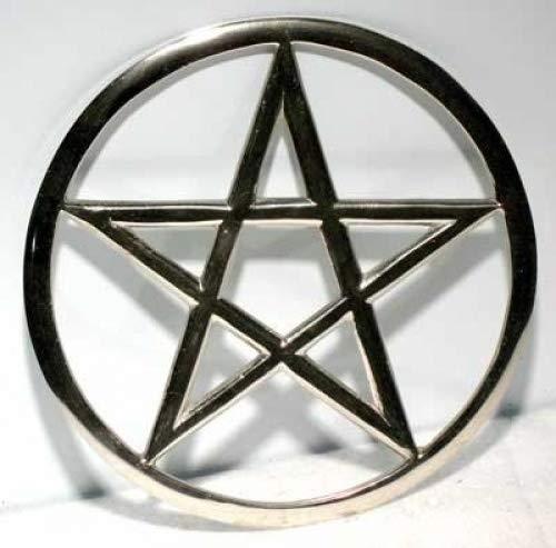 Large Cut-Out Pentagram altar tile * by AzureGreen by AzureGreen