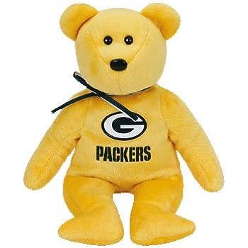 Amazon.com: Denver Broncos Ty Beanie Baby Bear: Toys & Games