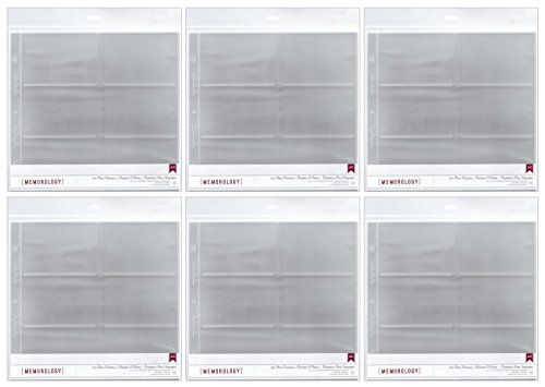 American Crafts 4x6 Photo Protector Sheets (6) from American Crafts