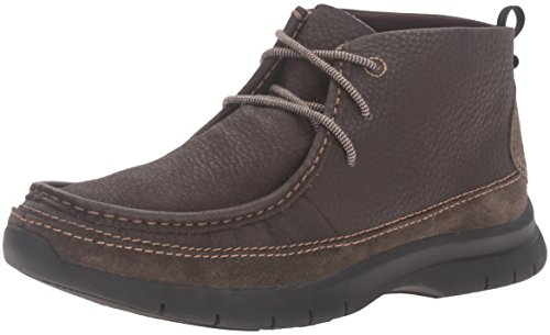 Dockers Men's Woodson Chukka Boot, Chocolate, 13 M US