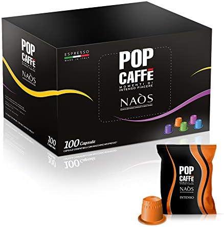 Nespresso compatibili 100 capsule POP CAFFE MISCELA .1 INTENSO