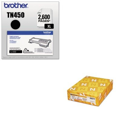 KITBRTTN450NEE06571 - Value Kit - Neenah Paper Classic Laid Stationery Writing Paper (NEE06571) and Brother TN450 TN-450 High-Yield Toner (BRTTN450) by Neenah