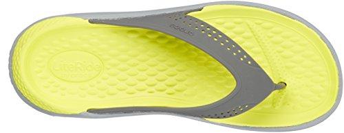 Grey Crocs Grey LiteRide Light Slide Slate RPqt4xwPr