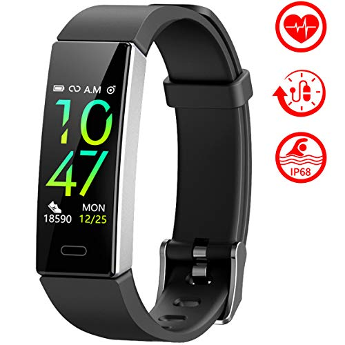 Mgaolo Fitness Tracker,2020 Version IP68 Waterproof Activity Tracker with Blood Pressure Heart Rate Sleep Monitor,10…