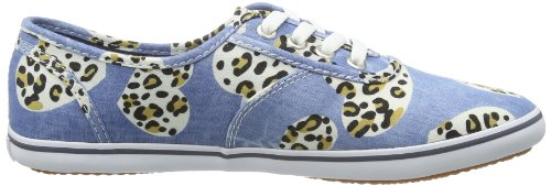 Vans W CEDAR  (HEART CHEETAH) - Zapatillas de lona mujer blanco - Weiß ((Heart Cheetah))