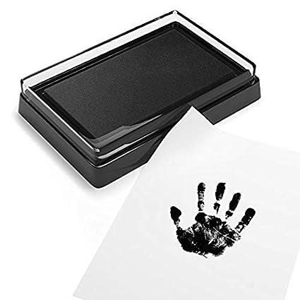 Newborn Baby Handprint Footprint Pad Safe Easy To Clean No Mess Non-Toxic Ink Pad Photo Hand Foot Print Pad Wonderful Keepsake