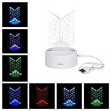 Kpop BTS Bangtan Boys 7 Colors LED Night Light USB