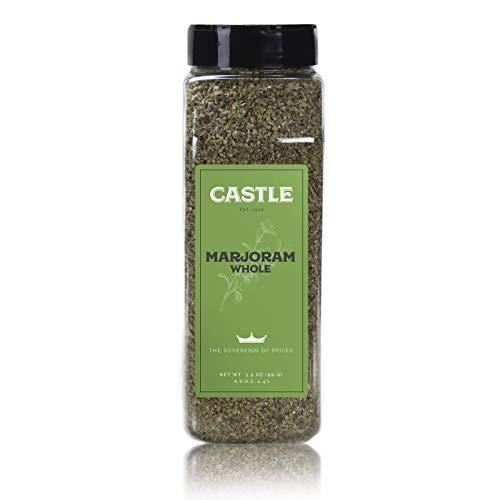 Castle Foods | MARJORAM LEAVES, 3.5 oz Premium Restaurant ()