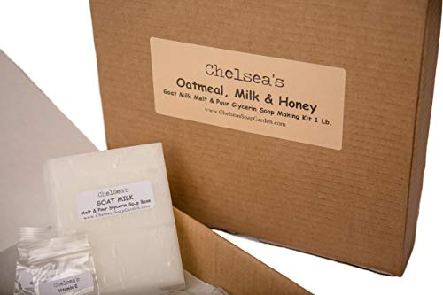 - Oatmeal, Milk and Honey Soap Making Kit Glycerin