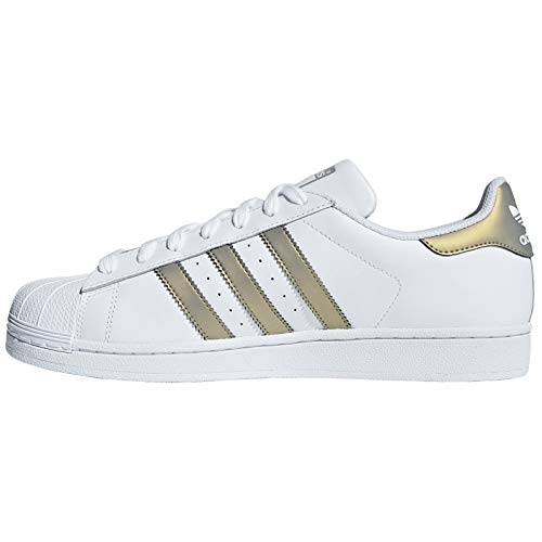 White Grey Metalic Adidas De Gold Superstar Chaussures Fitness Homme nTzXqw