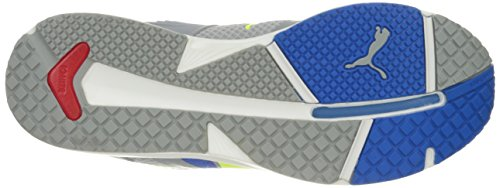 Puma Ignite Xt V2 Maglia Scarpa Da Corsa Blu Elettrico Limonata