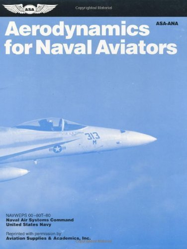 Aerodynamics for Naval Aviators (FAA Handbooks) Last Revision: 1965 Edition by Federal Aviation Administration published by Aviation Supplies & Academics, Inc. - Aviator The Last