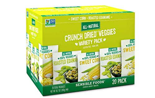 An Item of Sensible Foods Crunch Dried Veggies Variety Pack (0.54 oz, 20 ct.) - Pack of -