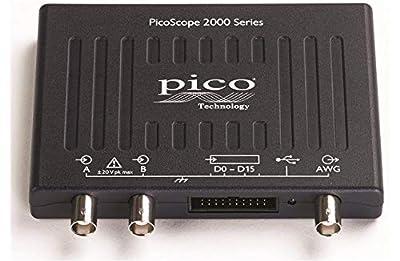 PicoScope 2206B MSO 50 MHz 2+16 Channel Mixed-Signal Oscilloscope