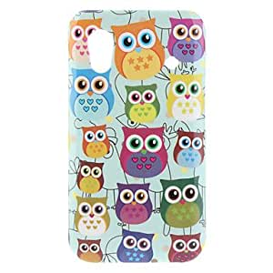 Zaki- Small Owl Pattern Hard Case for Samsung Galaxy Ace S5830