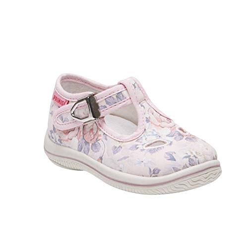 Primigi Sneakers for Girls Rose with Flowers - PBB 13504. Summer and Spring. (8.5(US) - ()