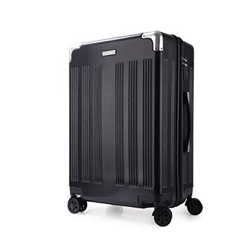 ShiMin ハイエンドPCの描画ロッド荷物スーツケースユニバーサルホイールスーツケース20インチ22インチ24インチ26インチ (Color : ブラック, Size : XL) XL ブラック B07PLJ4583