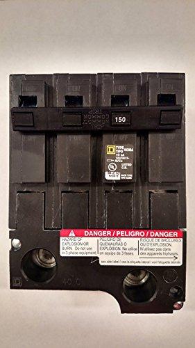 Hom2150bb square d homeline 150 amp plug on circuit breaker hom2150 by Schneider square d homeline