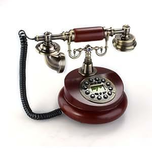 Tel fono fijo antiguo vintage retro resina casa mesa oficina electr nica - Casa del libro telefono gratuito ...