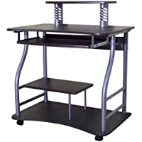 Home Source Industries AMT-710 Computer Cart on Casters, Black