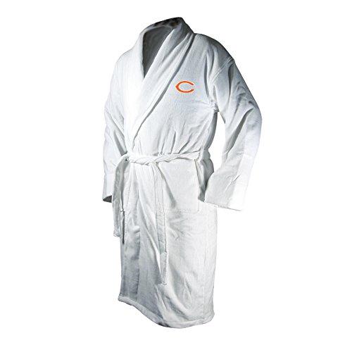 NFL Chicago Bears Cotton Robe (White, One - Chicago Robe