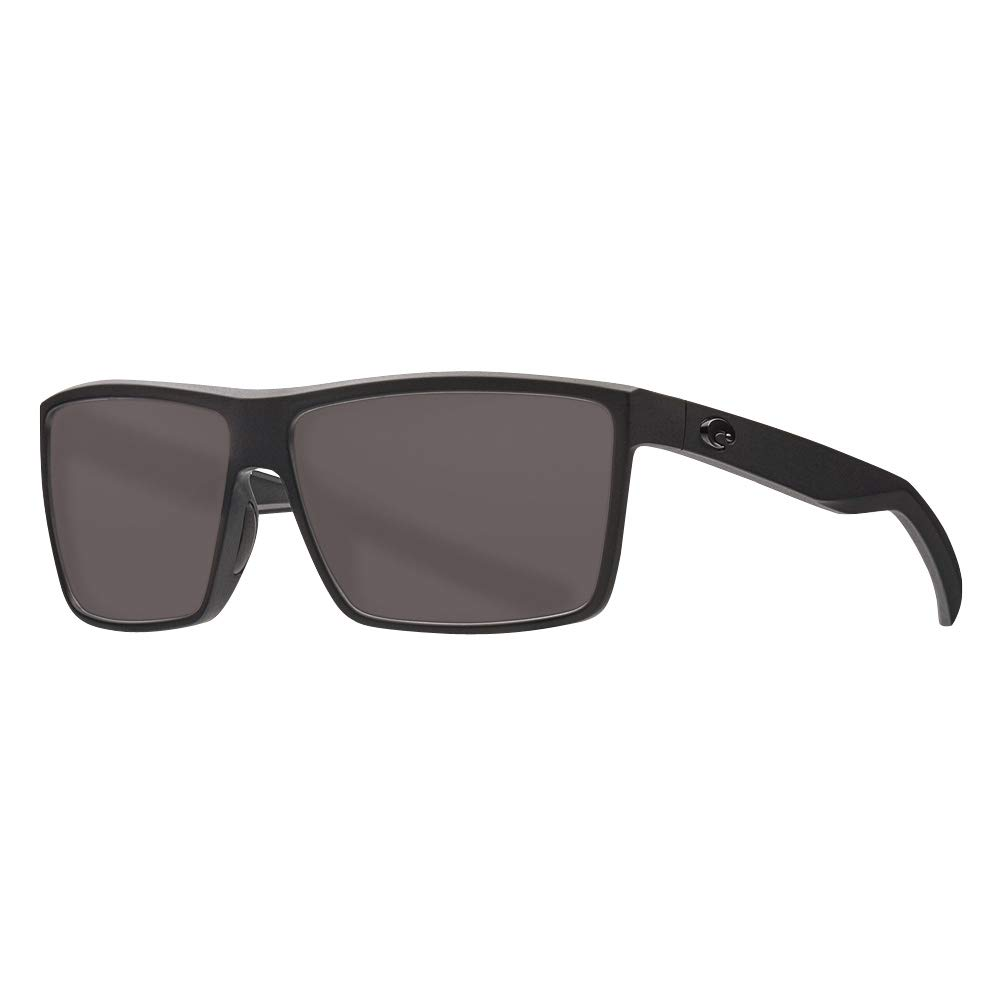 Costa Rinconcito Matte Black Plastic Frame Grey Lens Unisex Sunglasses RIC11OGGLP by Costa Del Mar