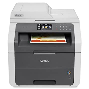Brother MFC-9130CW Wireless All-In-One Colour Printer with Scanner, Copier and Fax