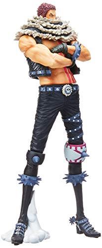 Action Figure Onepiece King Of Artist - The Charlotte Katakuri Bandai Banpresto Multicor