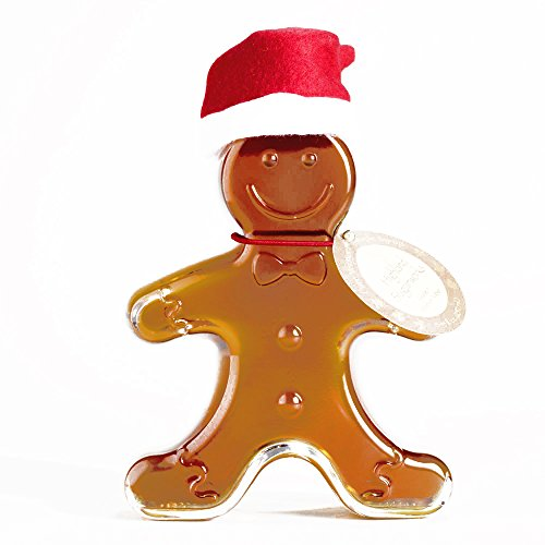 Highland Sugarworks Gingerbread Man Maple Syrup Bottle - Gourmet Christmas Gift for the Holidays (1 Item per Order, Not per -