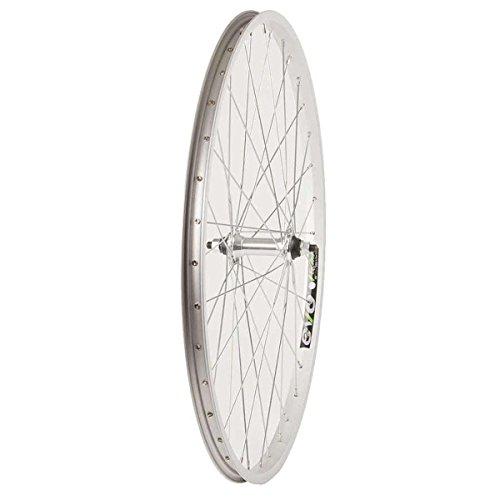 Wheel Shop EVO E-Tour 20 Silver/ Stainless Wheel Front 26'' 36 spokes FM-21 Bolt-on ()