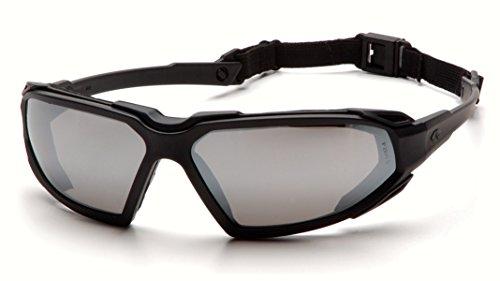 negro Mirror seguridad Silver de antiniebla Highlander espejo Safety Gafas SBB5070DT Pyramex Marco plateados wq07ZxIS