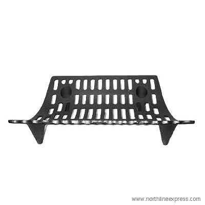 "Woodeze Home Decorative Outdoor Fire Place Accessorie 24"" Cast Iron Grate 5VE-16-040"