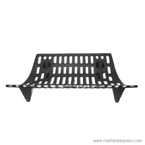 Woodeze Home Decorative Outdoor Fire Place Accessorie 24'' Cast Iron Grate 5VE-16-040 by Woodeze