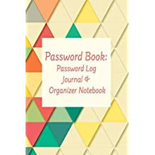 Password Book: Password Log Journal & Organizer Notebook