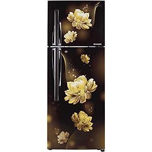 LG 284 L 2 Star Smart Inverter Frost-Free Double Door Refrigerator (GL-T302RHCY, Hazel Charm, Convertible)