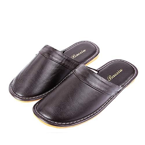 Sneakers Pavimento Antiscivolo Slipper Inverno In Pelle Uomo Calde Scarpe Photo Per Home Morbido Meaeo Interno Color Pantofole qznv8HwP