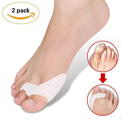 PrettyDate Bunion Corrector & Bunion Relief 2 Big Toe Protectors For Bunions Treatment Bunion Gel Toe Separators, Spacers, Straightener