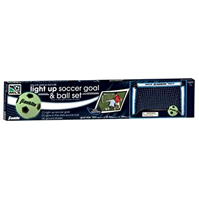 Franklin Sports MLS Light Up Soccer Goal and Ball Set