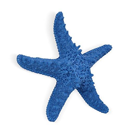 J-Beauty Home Wall Decor Decoration Beach Starfish (Blue Starfish)