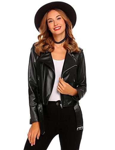 SummerRio-Womens-Faux-Leather-Motorcycle-Biker-Short-Coat-Jacket-Slim-Zipper-Jacket